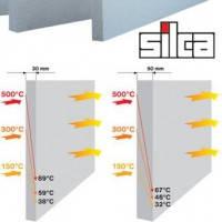 Оригинал Плиты термоизоляционные Silca 250 KM  30х625х1000 мм силикат кальция