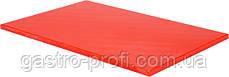 Доска разделочная 450*300 мм красного цвета YatoGastro YG-02170
