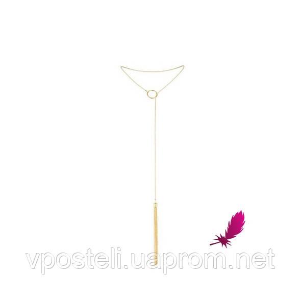 Цепочка с металлической плеточкой Magnifique Tickler Pendant