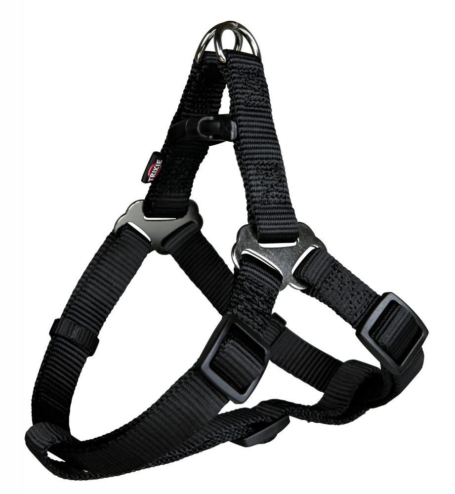 Шлея XS-S 30-40 см One Touch чорна Trixie для собак
