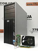 Компьютер HP Z400, Intel Xeon W3565 3.46GHz, RAM 6ГБ, HDD 250ГБ, Nvidia Quadro 1GB