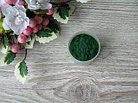 Флок. Цвет зелёный.  р-р 1 мм, объем 20 мл - цена 15 грн, фото 1
