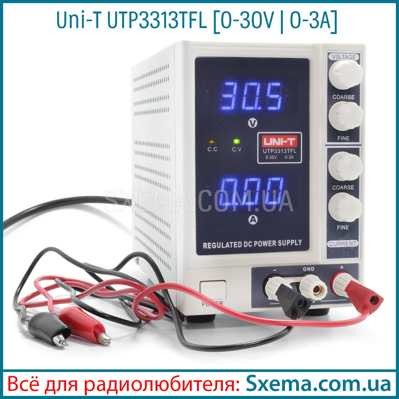 Лабораторный блок питания Uni-T UTP3313TFL, 30B, 3A
