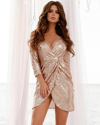 Соблазнительное платье из пайеток, фото 2
