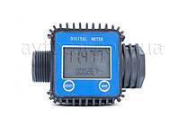 Счетчик электронный DK  5-120 л/мин, 10 атм, DK8018