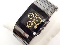 Мужские (Женские) кварцевые наручные часы Rado SINTRA JUBILÉ chrono на керамическом ремешке