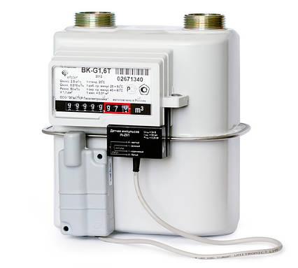 Газовый Счётчик Мембранного Типа Elster BKТ G-1,6 М Узкий