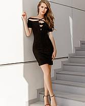 Привлекающее внимание платье со шнуровкой на груди, фото 3