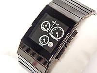 Мужские (Женские) кварцевые наручные часы Rado SINTRA JUBILÉ chrono на керамическом ремешке, фото 1
