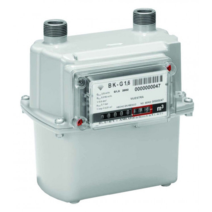 Газовый Счётчик Мембранного Типа Elster BK G-1,6 Узкий