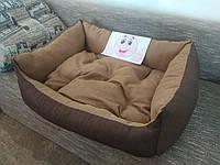 Диван лежанка Premium для больших собак всех  100 х 80 см.Лежанка,Лежаки,лежак,лежак для кошки,лежак