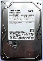 "Жесткий диск для компьютера Toshiba 500GB  7200rpm 32MB (DT01ACA050) 3.5"" SATA-III Б/У на запчасти, фото 1"