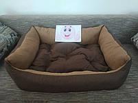 Диван лежанка Premium для больших собак всех  100 х 80 см.Лежанка,Лежаки,лежак,лежак для кошки,лежак, фото 4