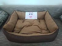 Диван лежанка Premium для больших собак всех  100 х 80 см.Лежанка,Лежаки,лежак,лежак для кошки,лежак, фото 3