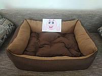 Диван лежанка Premium для больших собак всех  100 х 80 см.Лежанка,Лежаки,лежак,лежак для кошки,лежак, фото 6