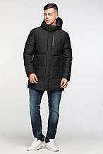 Теплая и стильная мужская зимняя куртка фирмы KASADUN KWMD19022CN черная