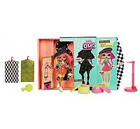 Модные фэшн-куклы Lol Surprise O. M. G. Neonlicious  старшая сестра Neon Q. T.