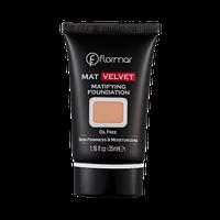 Матуюча тональна основа Mat Velvet V204 Natural beige, Flormar 30 мл