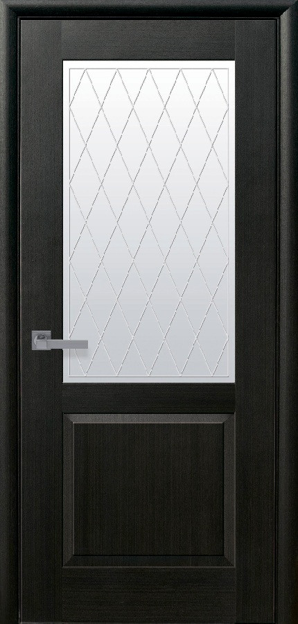 Двери Новый стиль Эпика Р2 венге