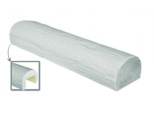 Стельова Балка декоративна Ретро EF 206 (3м) classic біла 9х12, ліпний декор з поліуретану.