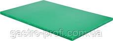 Доска разделочная 600x400x(H)20 мм зеленого цвета YatoGastro YG-02181
