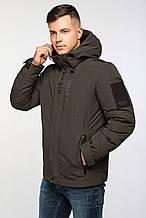 Короткая стильная мужская зимняя куртка KWMD19001CN KASADUN хаки