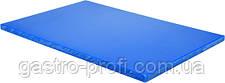 Доска разделочная 600x400x(H)20 мм синего цвета YatoGastro YG-02183
