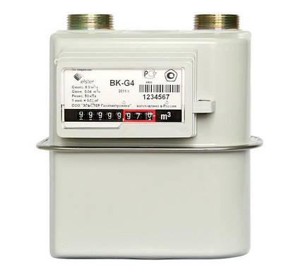 Газовый Счётчик Мембранного Типа Elster BK G-4,0 Узкий