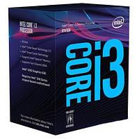 Процессор Intel Core i3 (LGA1151) i3-8100, Box, 4x3,6 GHz, UHD Graphic 630 (1100 MHz), L3 6Mb, Coffee Lake, 14