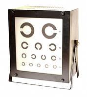 Прибор ПОЗД-1 для исследования остроты зрения для дали, переносной