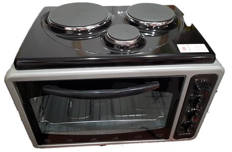 Электро печь + духовка 3 конфорки