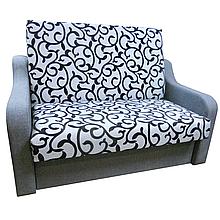 Диван Американка (Вензель сірий) Дитячий диван з нішею для білизни