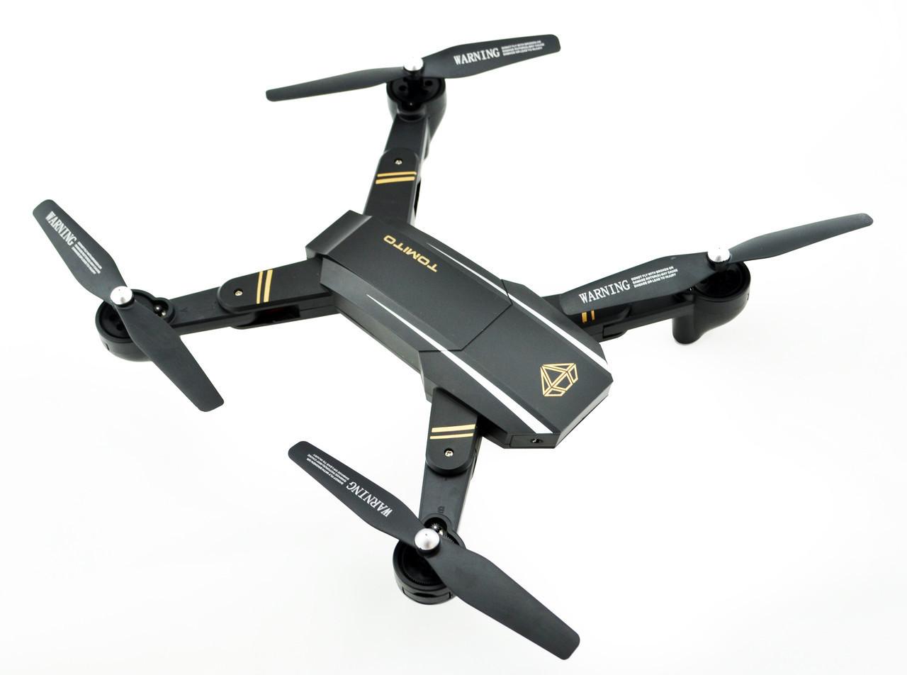 Складаний квадрокоптер професійний Phantom D5H з камерою WiFi