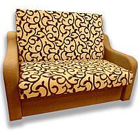 Диван Американка (Вензель коричневый) Детский диван с нишей для белья
