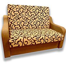 Диван Американка (Вензель коричневий) Дитячий диван з нішею для білизни