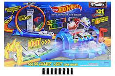 """Трек-запуск """"Hot Wheels"""", с """"лазером"""", меняет цвет 7908"""