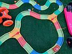 Конструктор Magic Tracks 360 деталей,оригинал, детская дорога с мостом и 2 гоночные машинки, фото 5