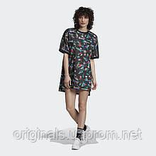 Женское платье-футболка Adidas Floral EC1872 - 2019/2