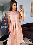 Женское хлопковое платье в горошек (в расцветках), фото 6
