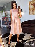 Женское хлопковое платье в горошек (в расцветках), фото 4
