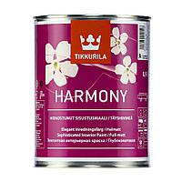 Стойкая к мытью совершенно матовая краска для стен и потолков Гармония ТМ Тиккурила (Tikkurila Harmony ) 0.9л