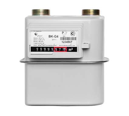Газовый Счётчик Мембранного Типа Elster BKТ G-4,0 Узкий