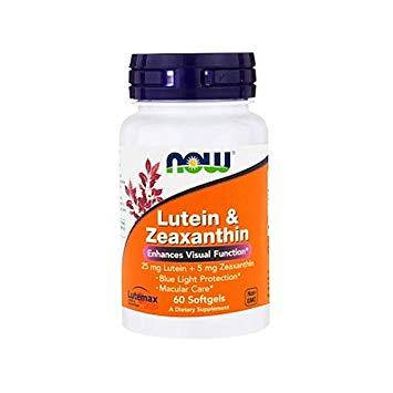 Lutein & Zeaxanthin (60 softgels) NOW