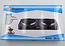 Электроплита настольная |  Електроплита настільна Domotec MS-5822 (Серая), фото 4