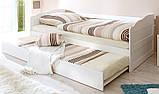 Кровать из бука с гарантией от производителя (эко товар) + дополнительное спальное место!, фото 3