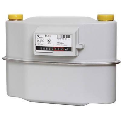 Газовый Счётчик Мембранного Типа Elster ВКТ G-6,0