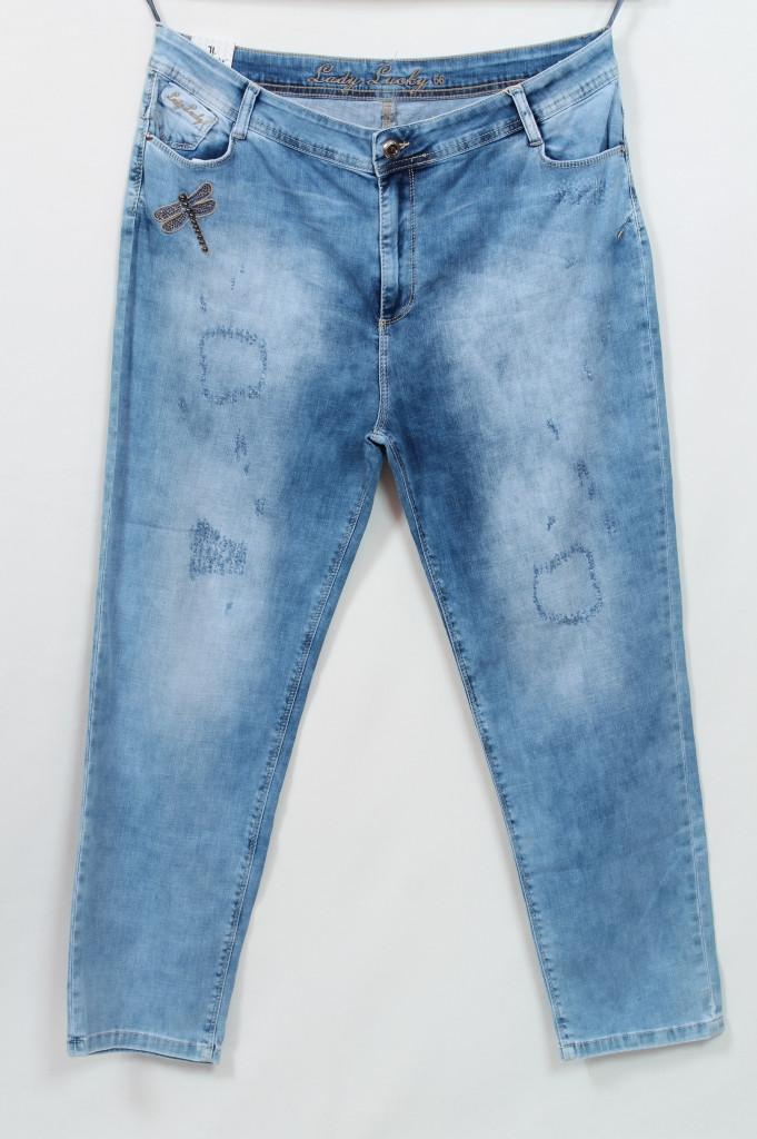 Турецкие летние джинсы со стразами, 56-62