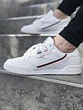 Мужские кроссовки adidas Continental 80 (Адидас Континенталь 80) Белые, фото 4