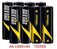 NEW Аккумулятор AA 1300 mAh tested Ni-mh