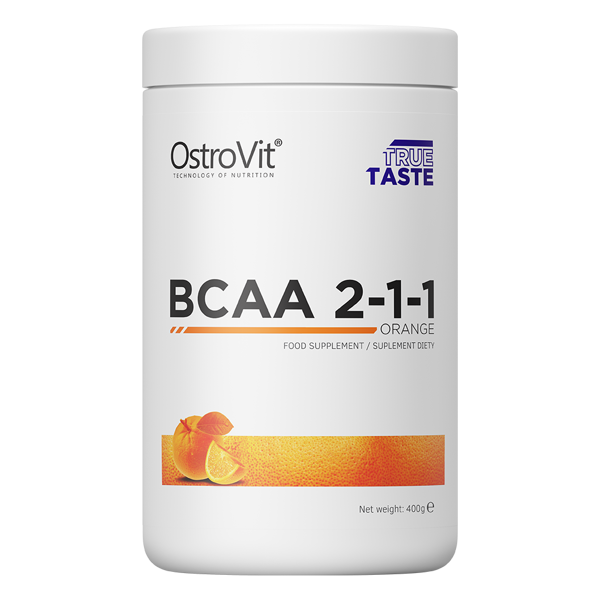 Аминокислоты  БЦАА OstroVit BCAA 2:1:1 400 грам